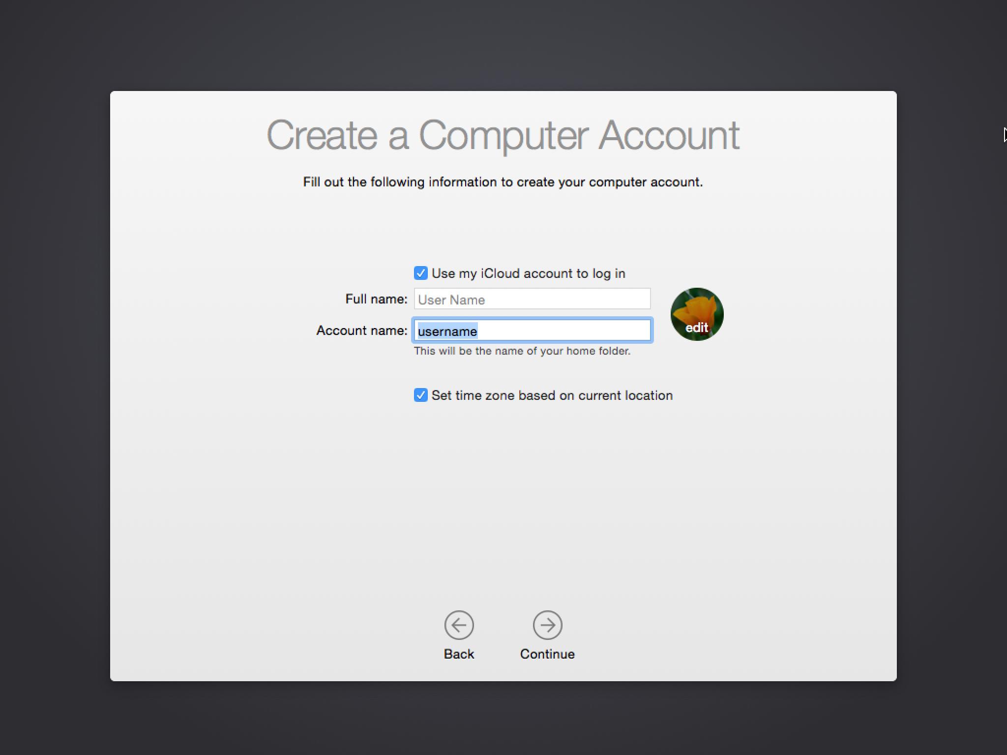 👉 Восстановление учетной записи в Mac OS X